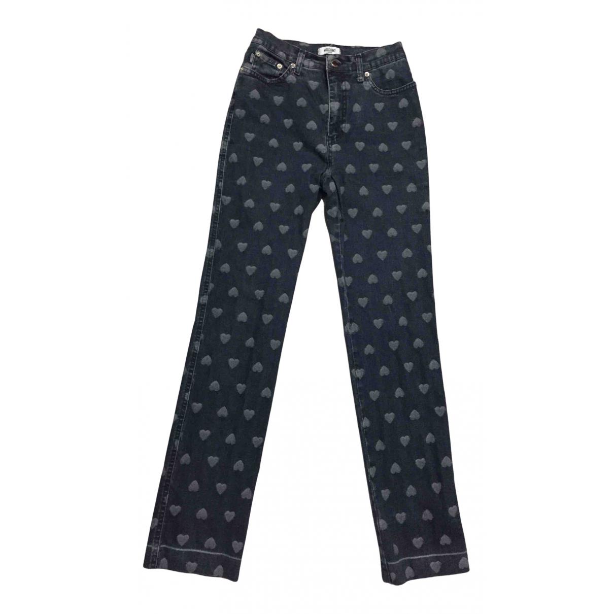 Pantalon en Denim - Vaquero Azul Moschino Cheap And Chic