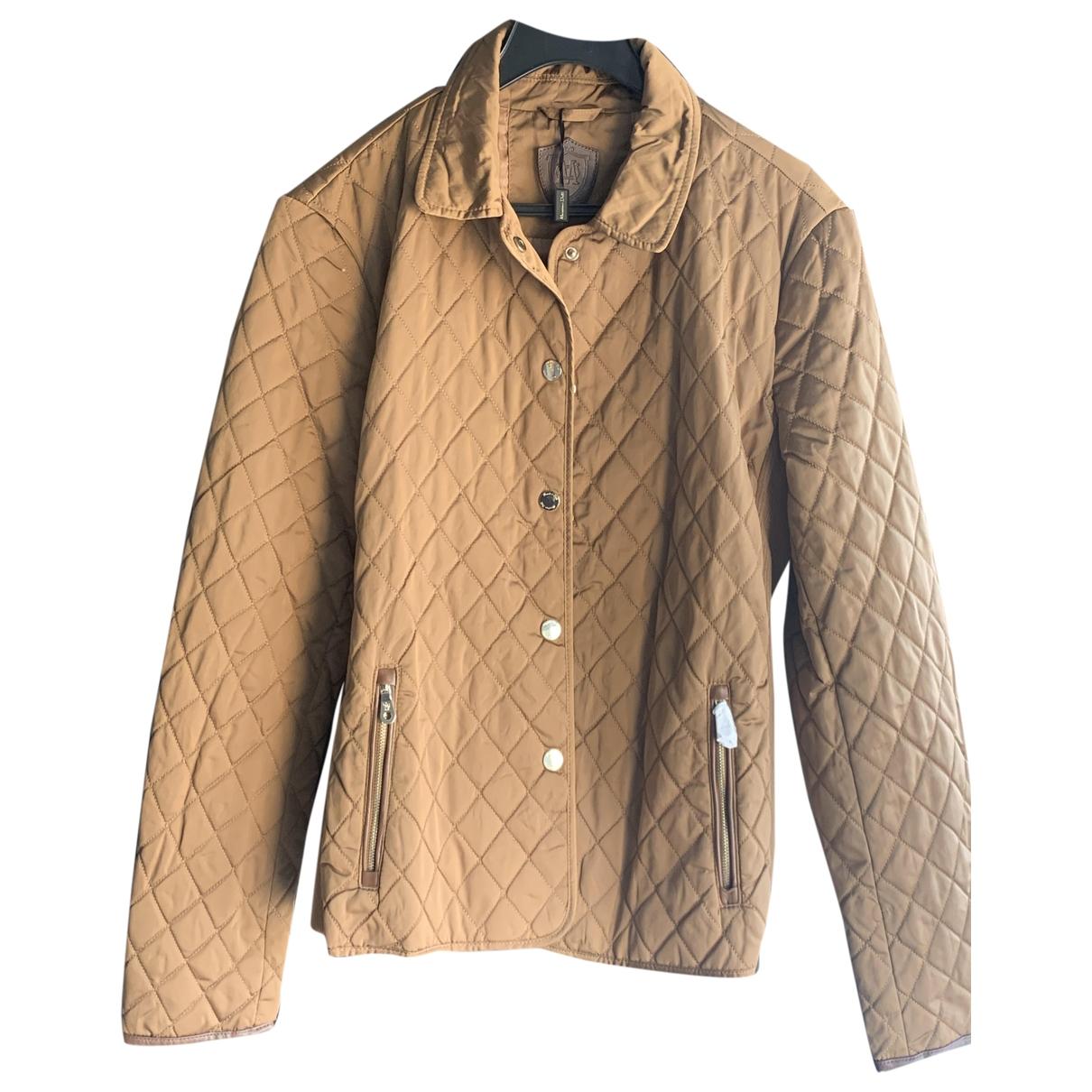 Massimo Dutti \N Jacke in  Khaki Polyester