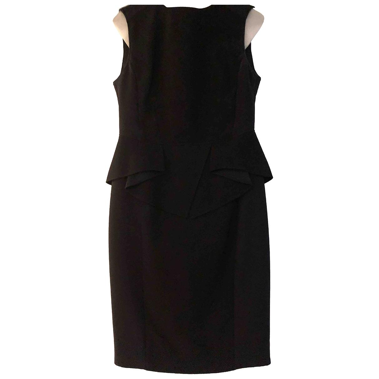 Elie Saab - Robe   pour femme en coton - elasthane - noir