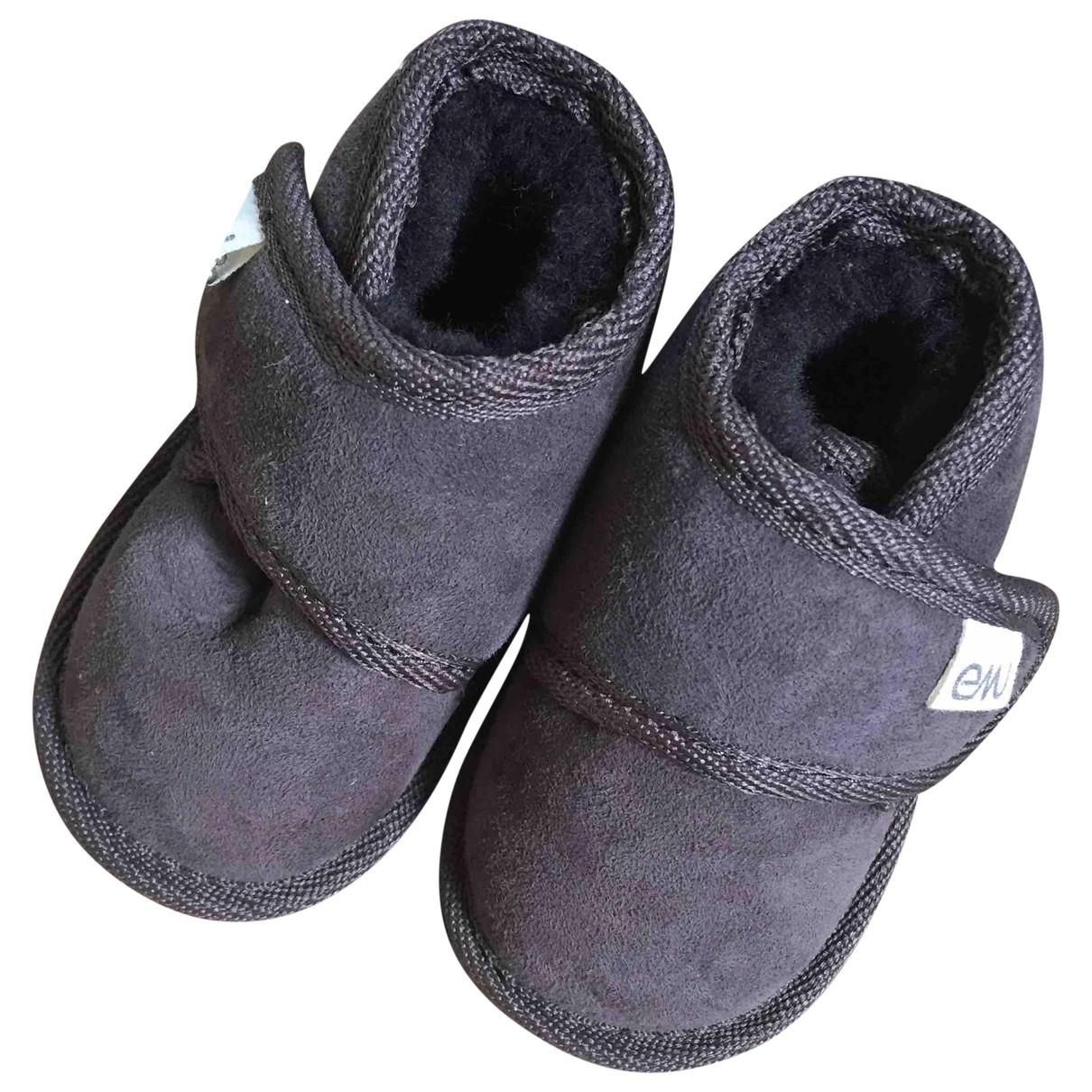Emu Australia - Bottes.Bottines   pour enfant en caoutchouc - marron