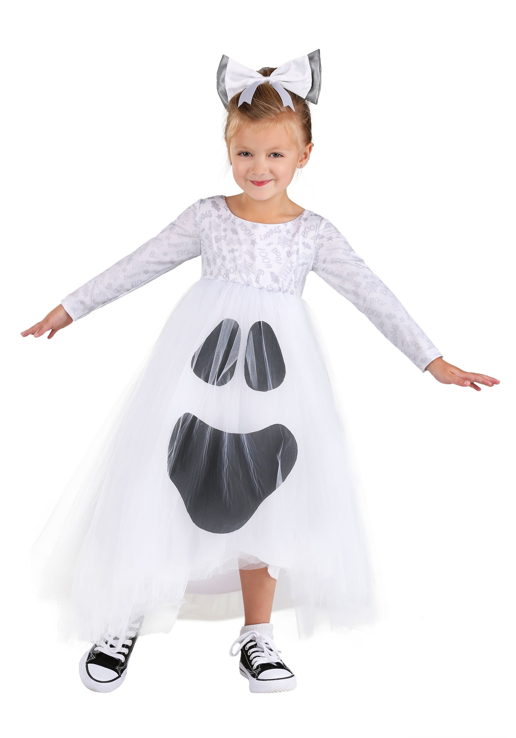 Ghost Tutu Costume for Toddlers