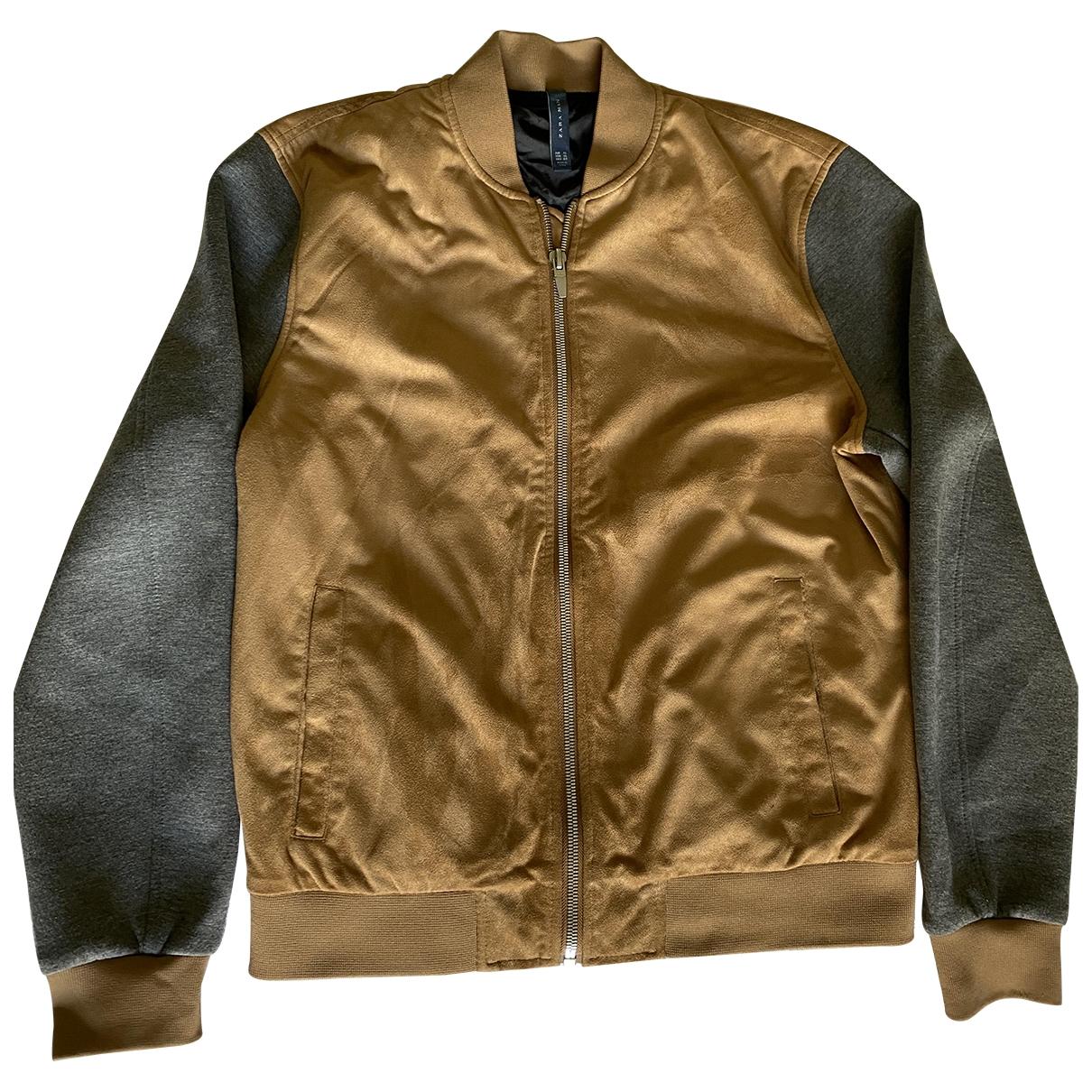 Zara \N Beige jacket  for Men XL International