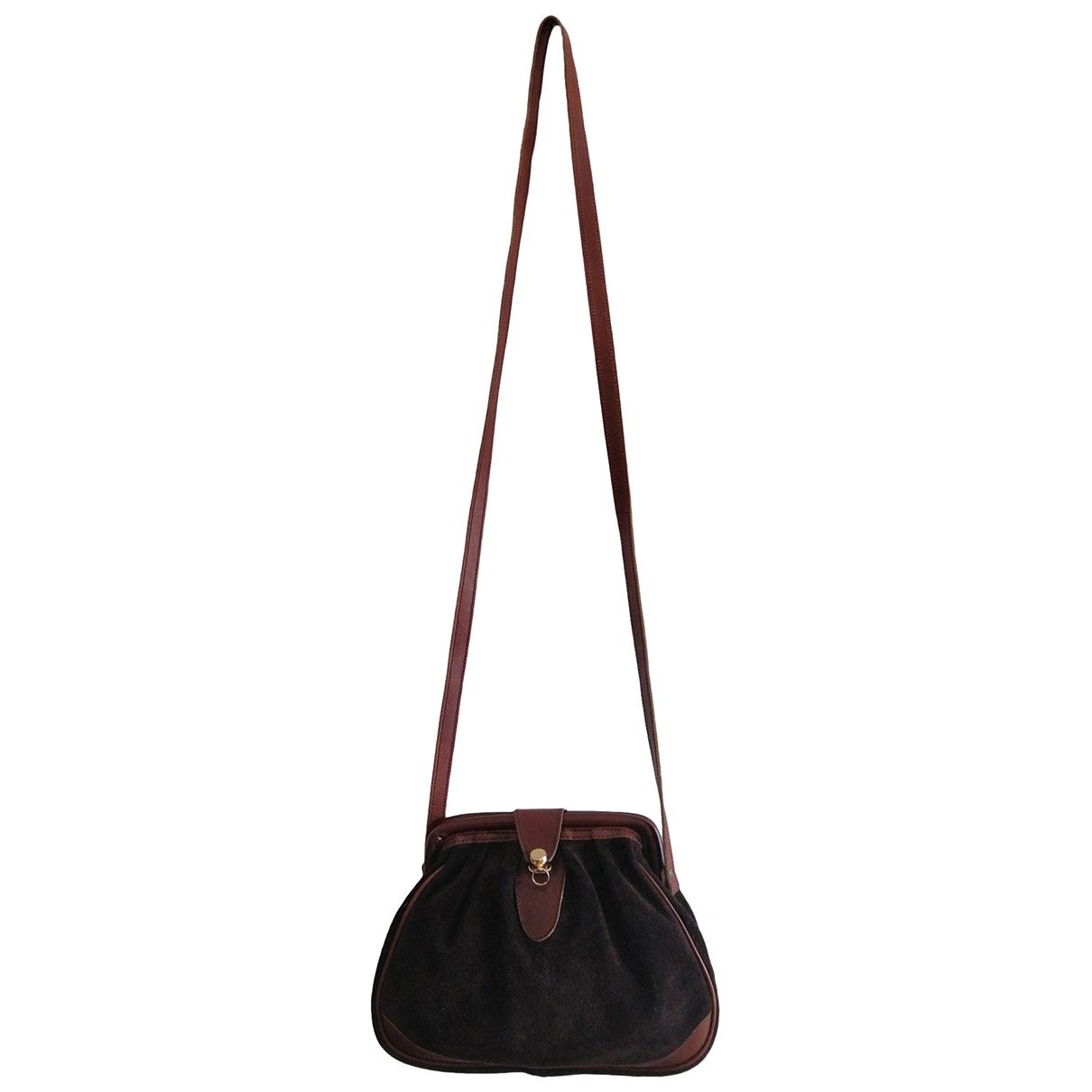 Bruno Magli \N Brown Leather handbag for Women \N