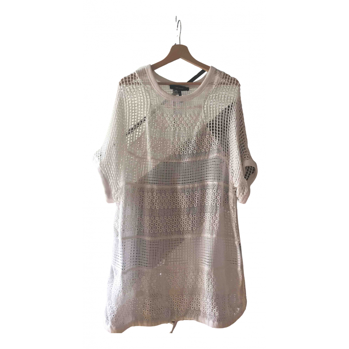 Isabel Marant \N White Cotton  top for Women 42 FR