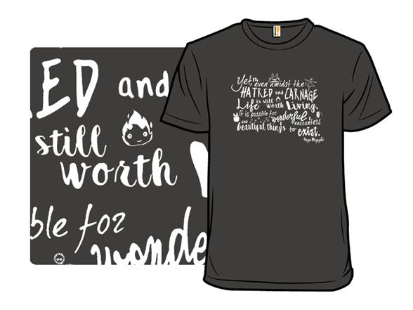 Animated Optimism T Shirt