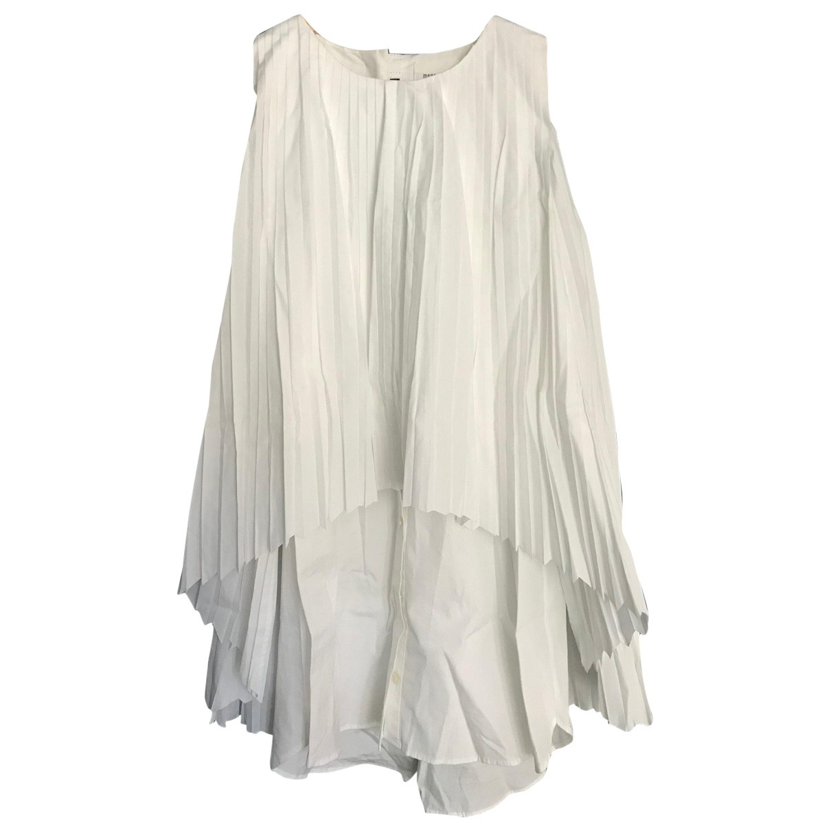Monographie \N White Cotton  top for Women S