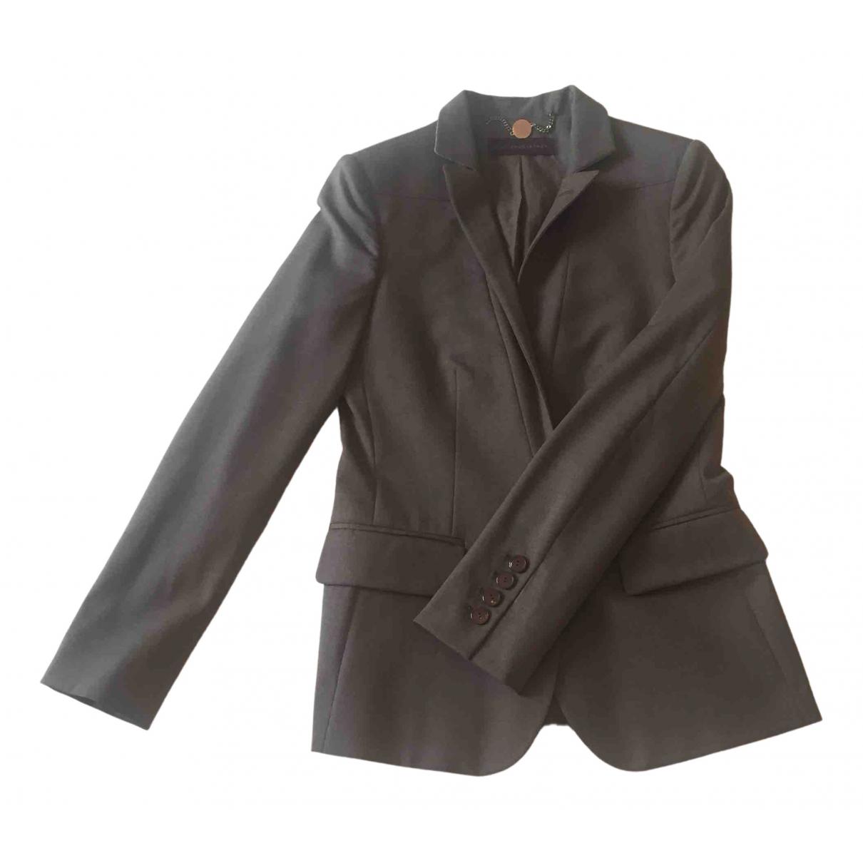 Stella Mccartney N Brown Wool jacket for Women 36 FR