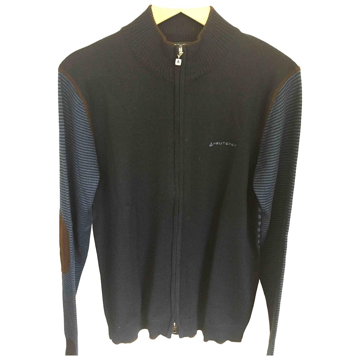 Peuterey \N Blue Wool Knitwear & Sweatshirts for Men XXXL International