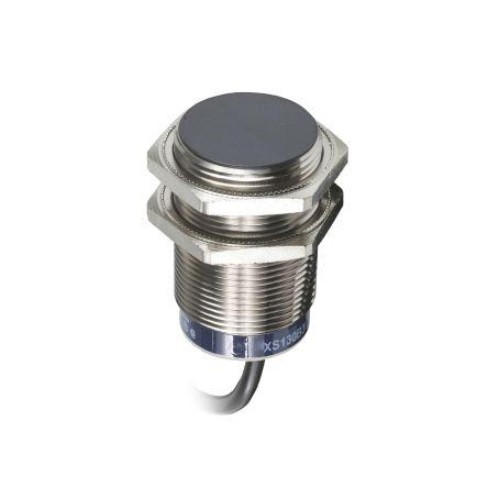 Telemecanique Sensors M30 x 1.5 Inductive Proximity Sensor - Barrel, NO Output, 15 mm Detection, IP68, IP69K, Cable