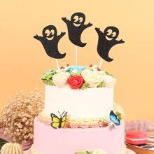 3 piezas decoracion de pastel de halloween