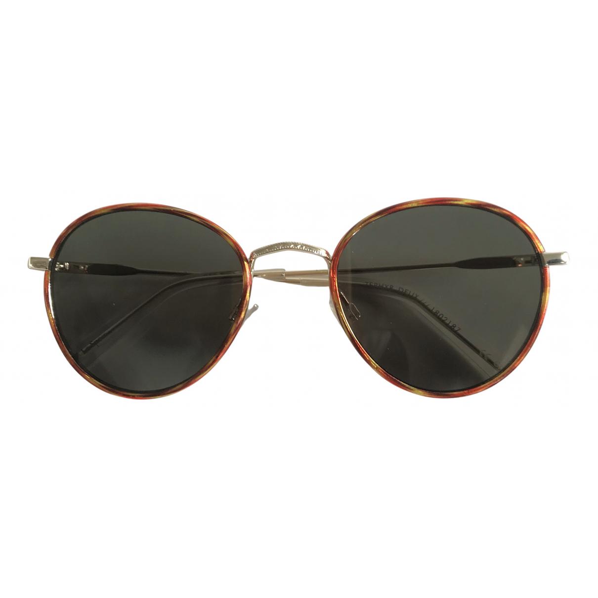 Le Specs N Green Metal Sunglasses for Women N