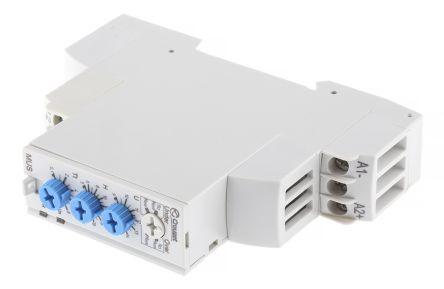 Crouzet Voltage Monitoring Relay With SPDT Contacts, 12 V dc Supply Voltage, 1 Phase, Overvoltage, Undervoltage
