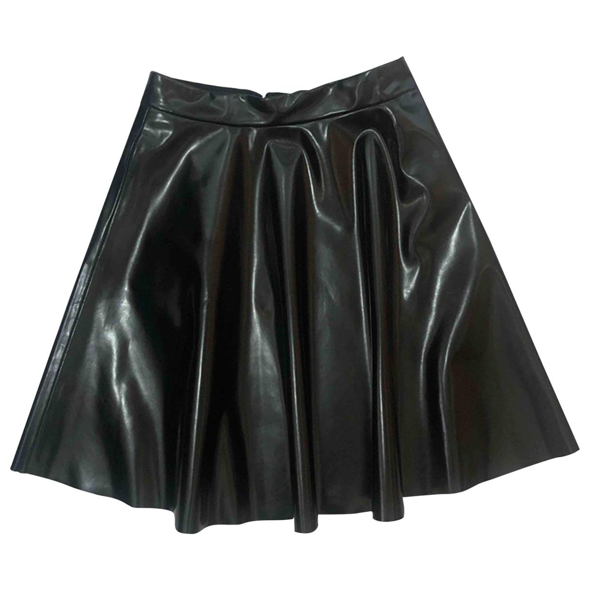 Mini falda de Charol Msgm