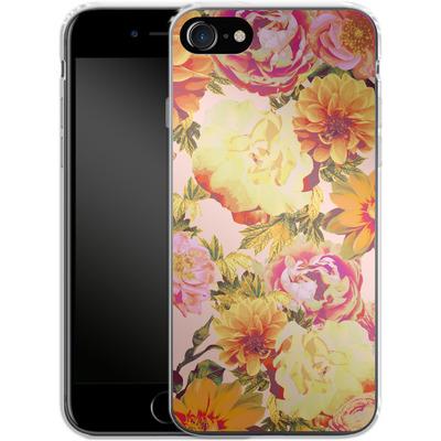 Apple iPhone 7 Silikon Handyhuelle - Tropicana Bouquet von Zala Farah