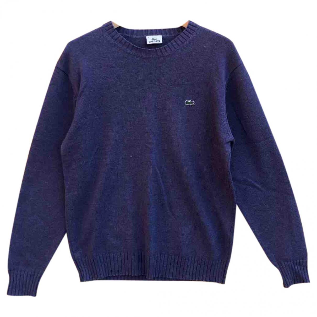 Lacoste \N Purple Cotton Knitwear for Women M International