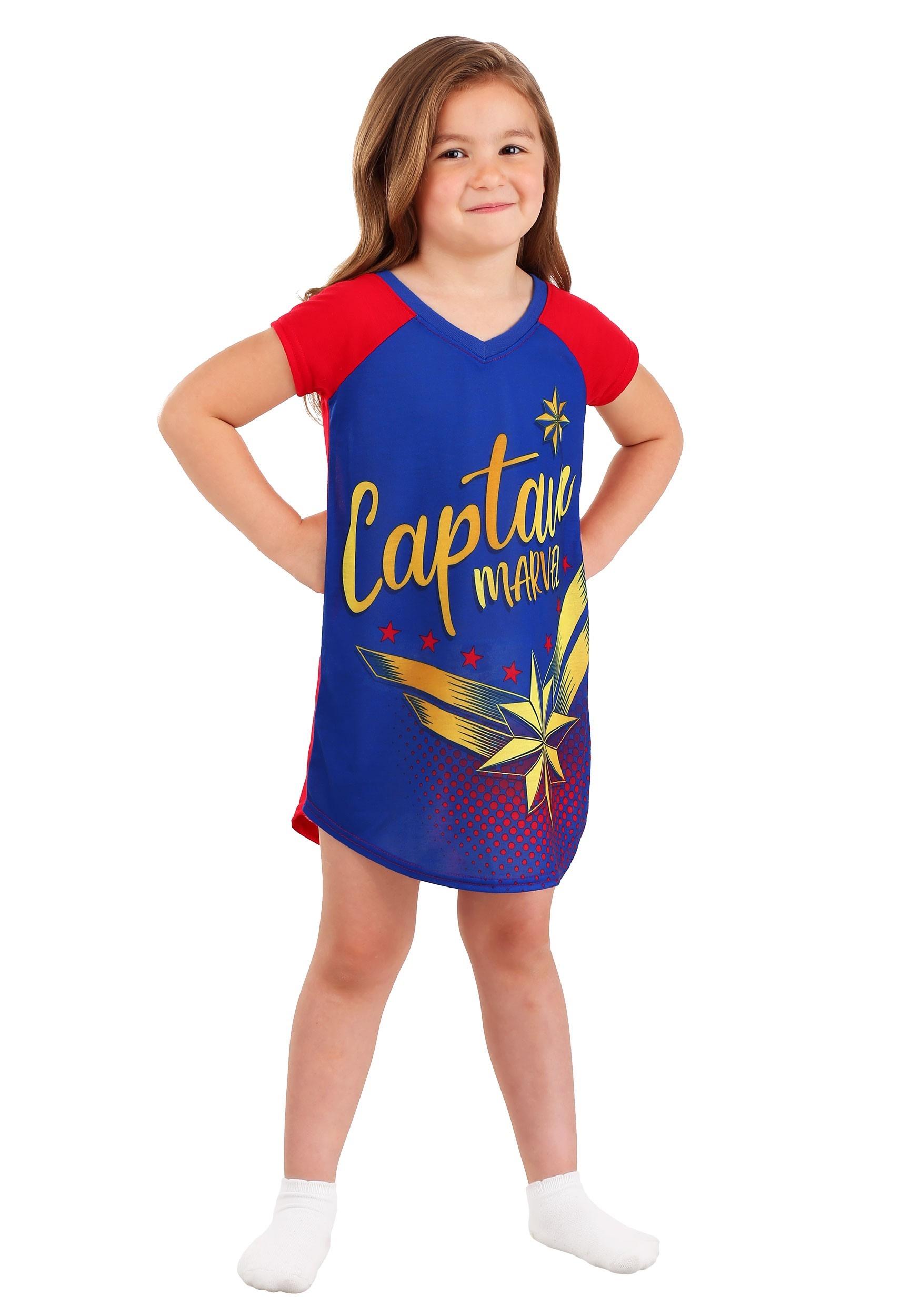 Captain Marvel Girls Dorm Nightgown