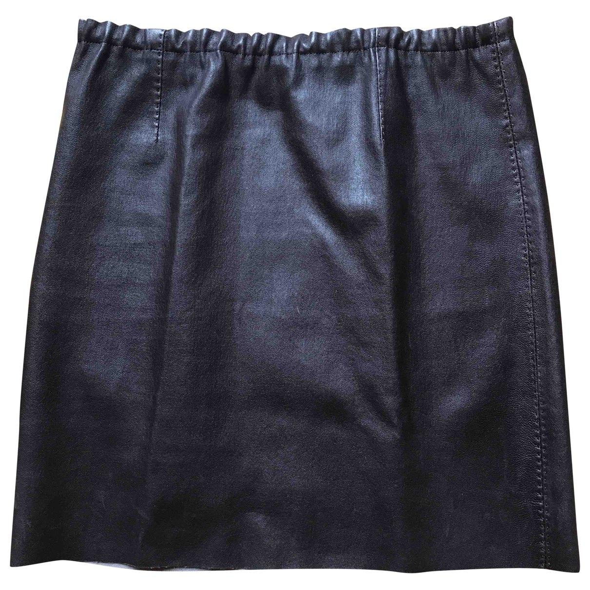 Stouls \N Brown Leather skirt for Women 36 FR