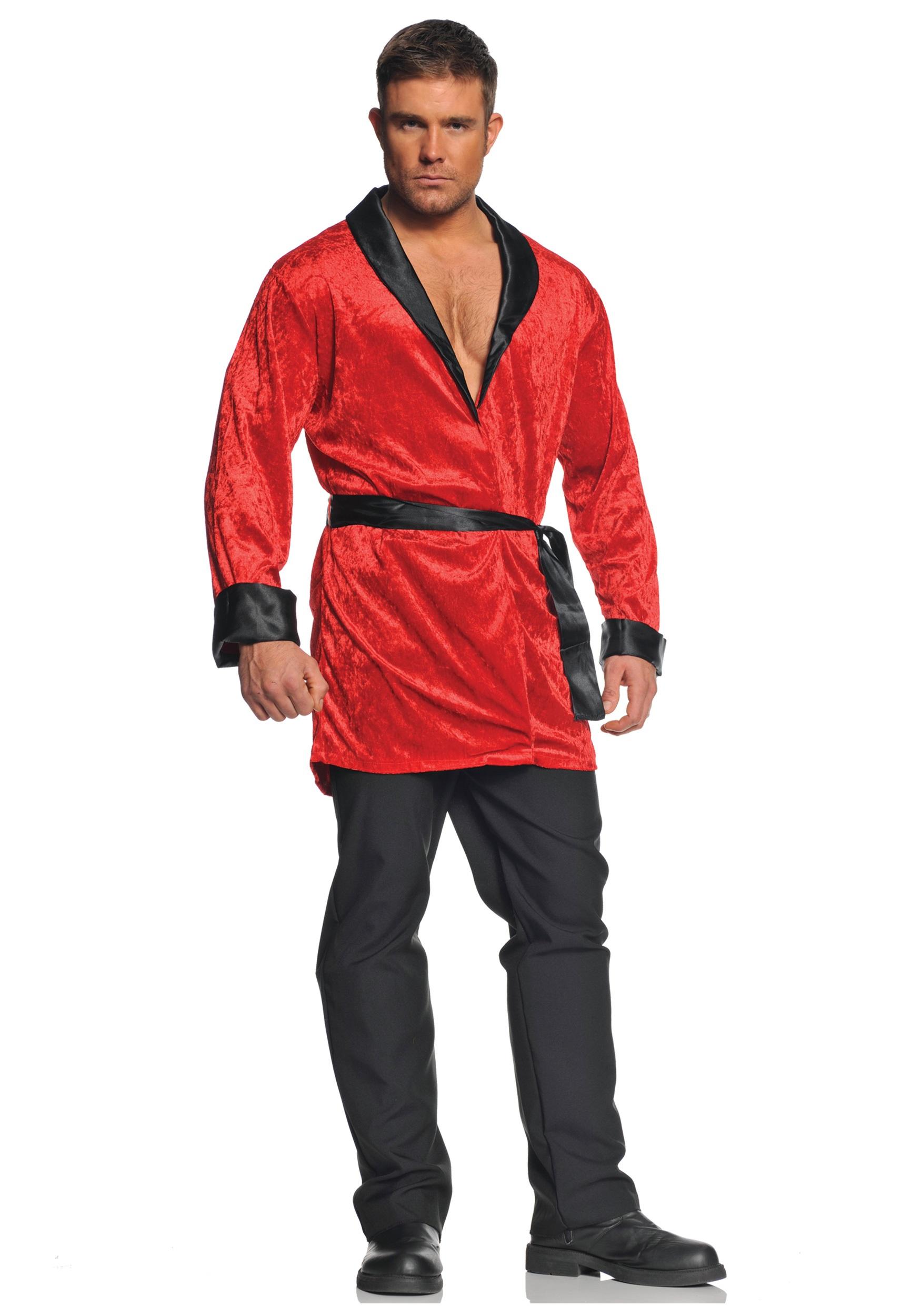 Smoking Jacket Costume | Hugh Hefner Costume