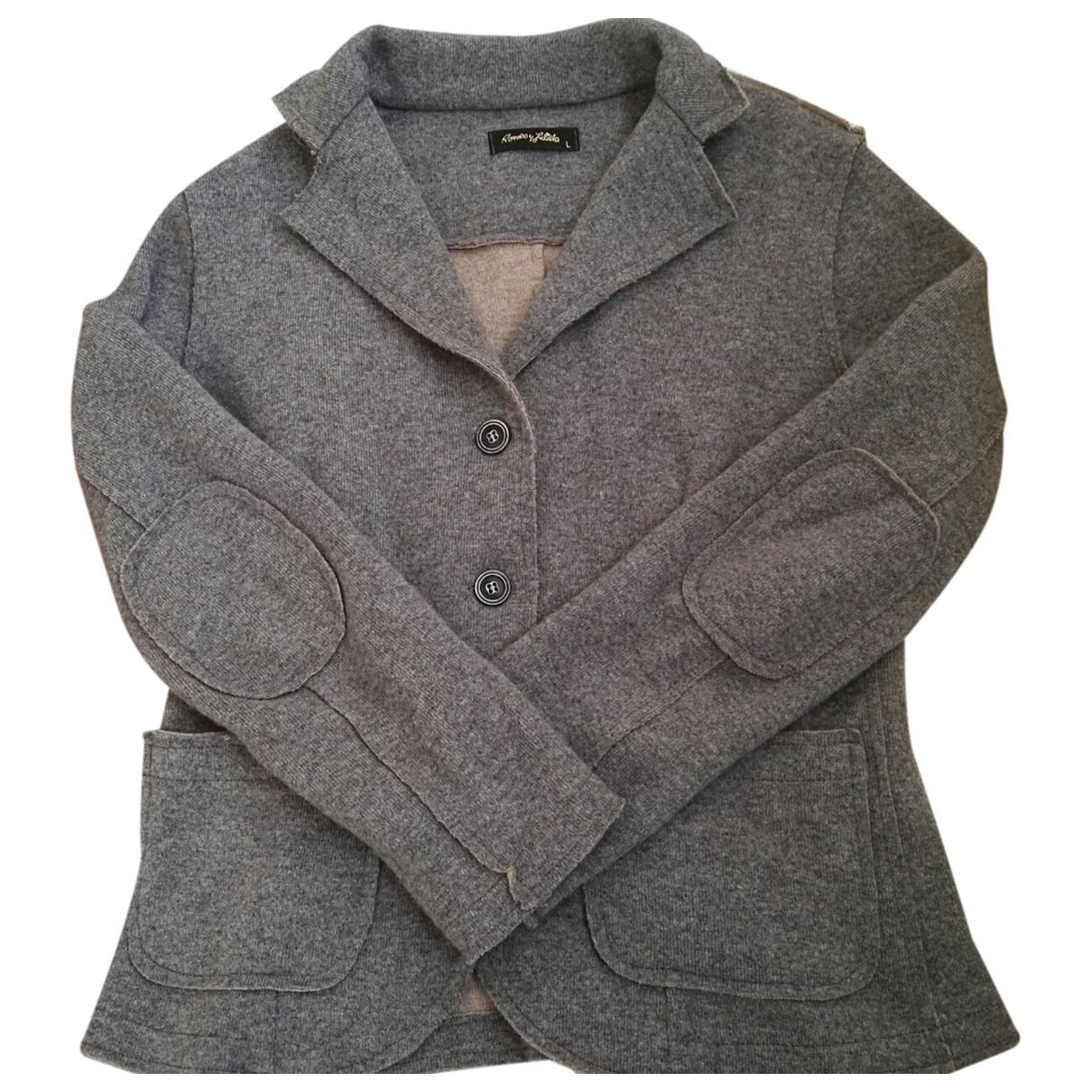 Autre Marque N Grey Wool jacket for Women L International