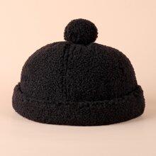 Kleinkind Kinder Einfarbiger Hut