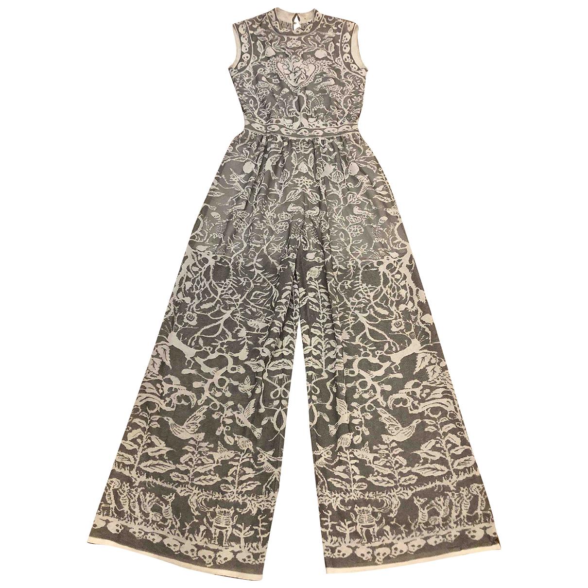 Missoni \N Kleid in  Grau Baumwolle