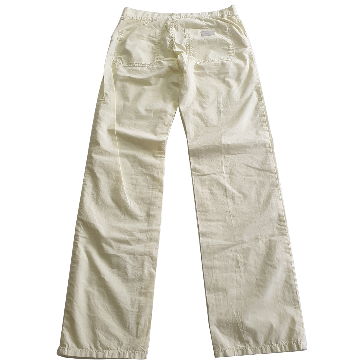 Gucci \N Yellow Cotton Trousers for Kids 12 years - XS FR