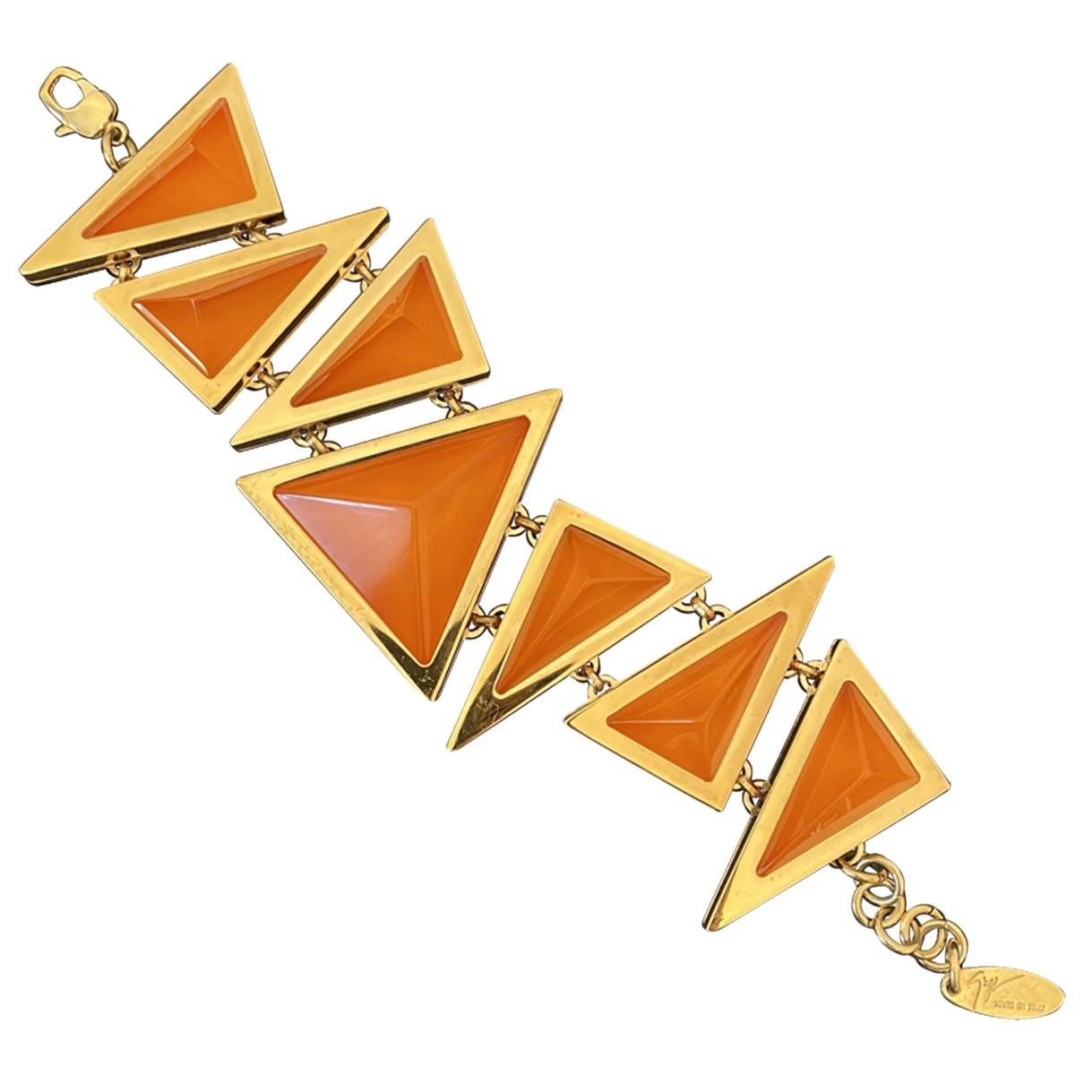 Giuseppe Zanotti - Bracelet   pour femme en metal - dore