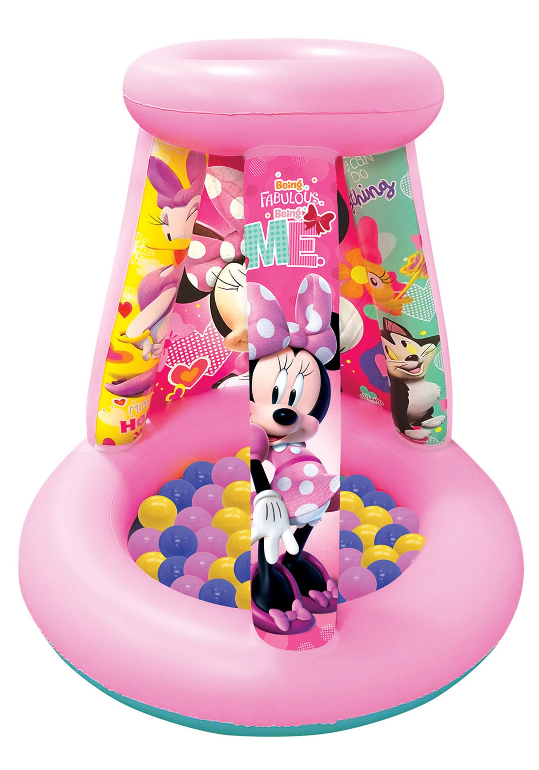 Minnie Mouse Playland w/ 15 Balls for Kids
