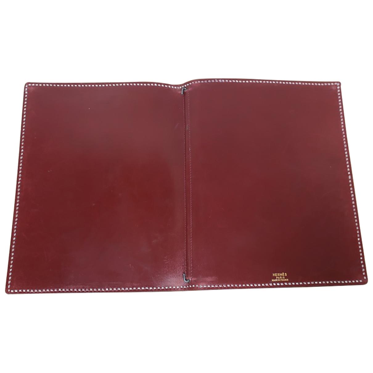 Cuaderno Couverture dagenda GM de Cuero Hermes