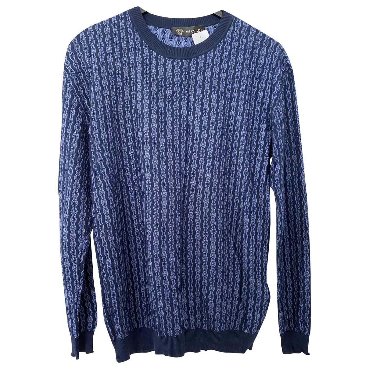 Versace - Pulls.Gilets.Sweats   pour homme - bleu