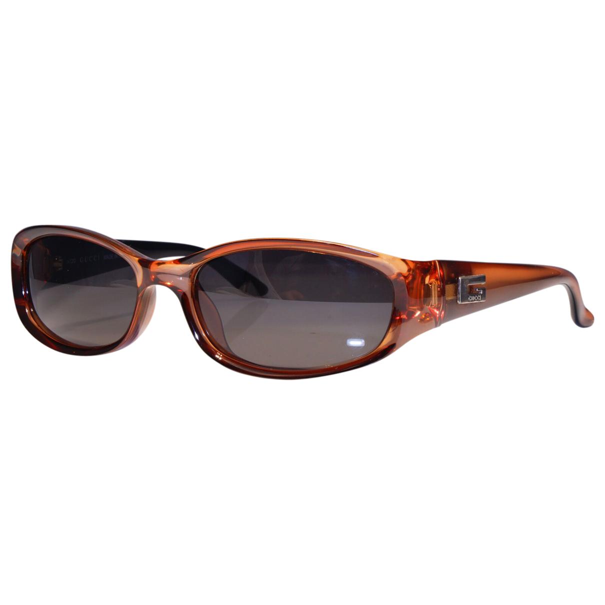 Gucci \N Sonnenbrillen in  Braun Kunststoff