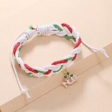 Weihnachten Armband mit Ausschnitt Anhaenger