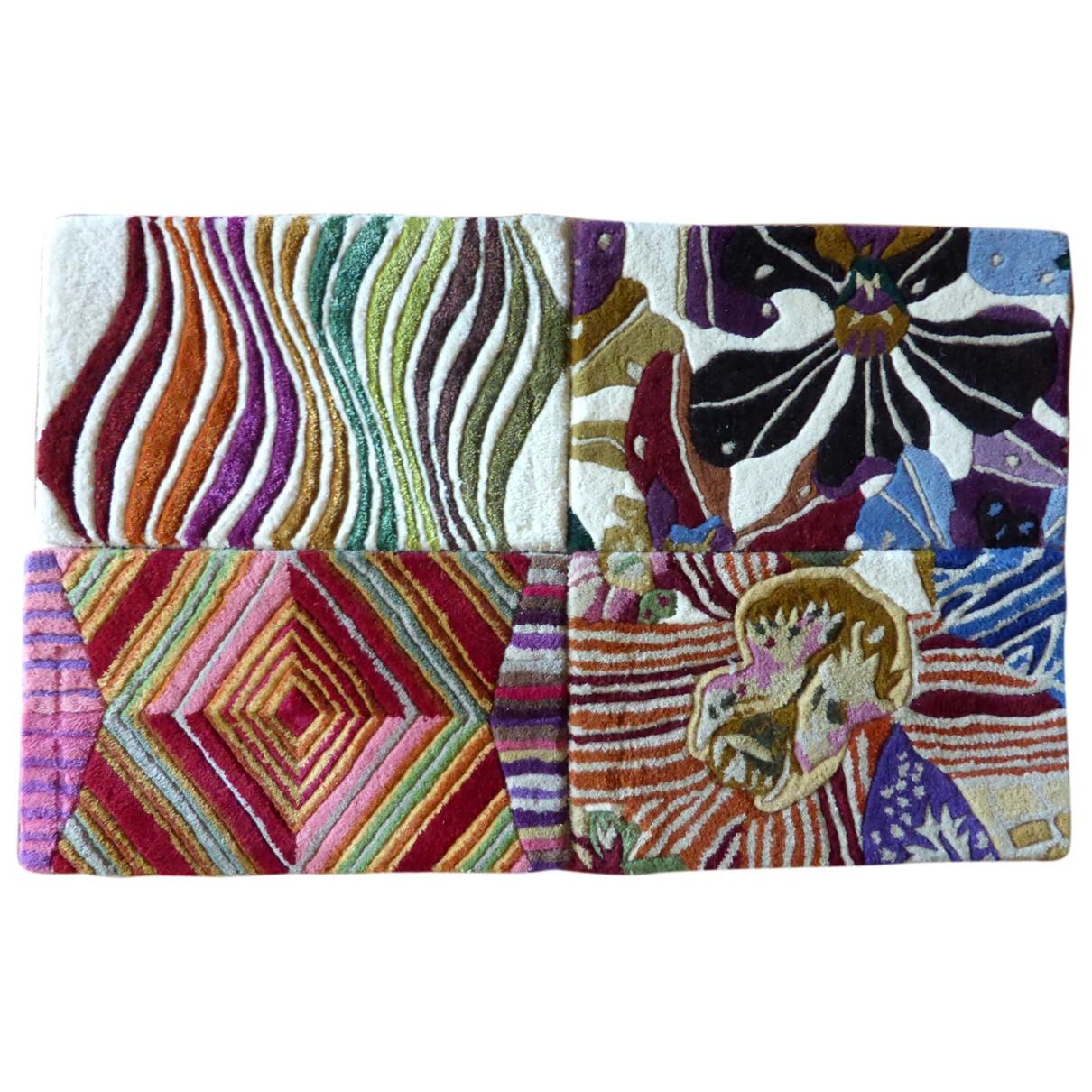 Missoni - Linge de maison   pour lifestyle en laine - multicolore