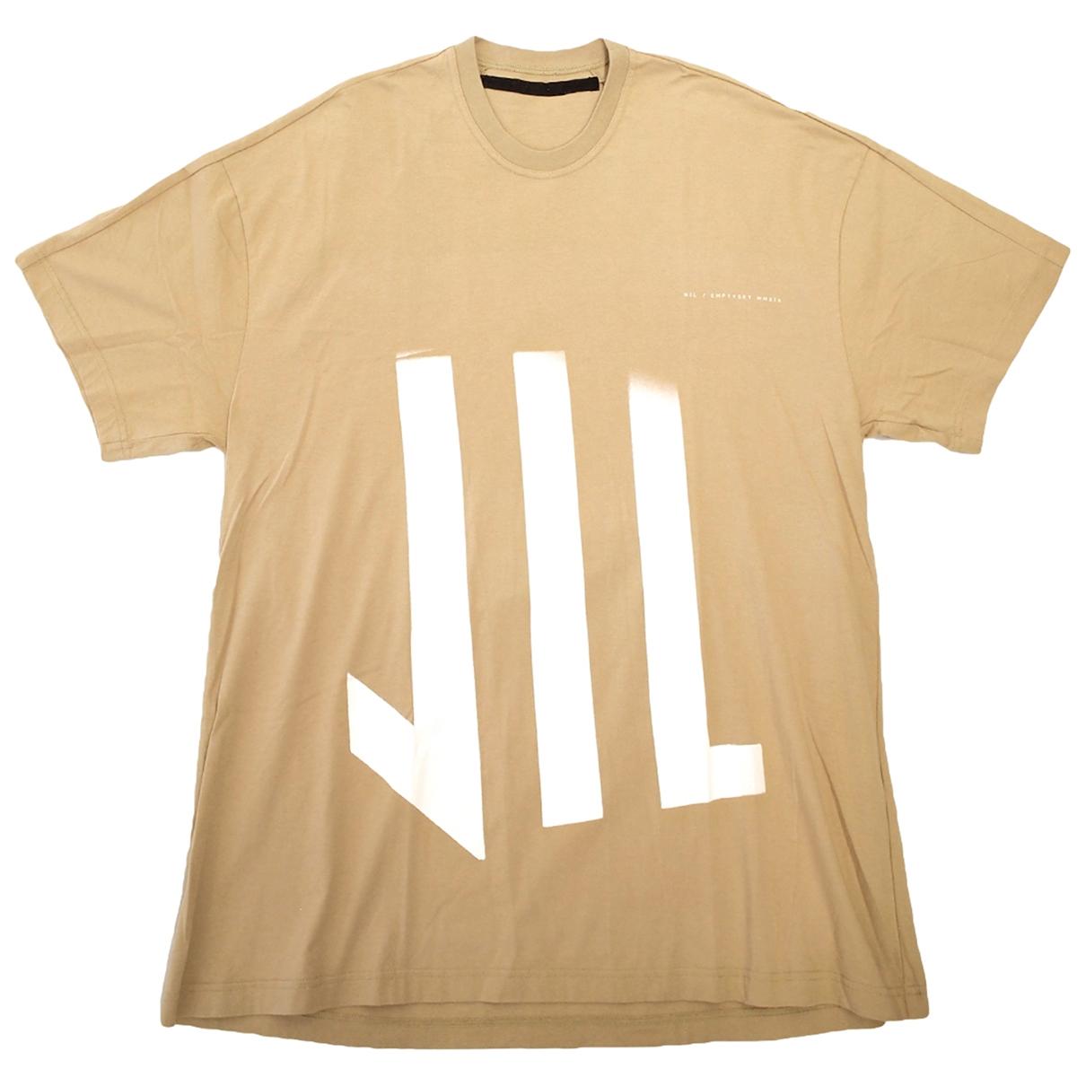 Julius 7 \N T-Shirts in  Beige Baumwolle