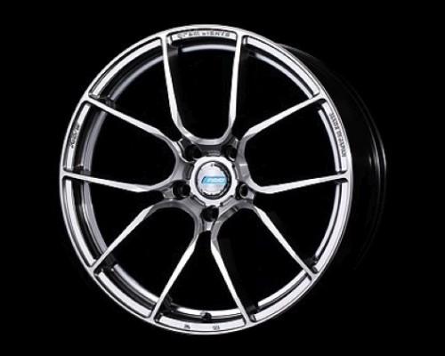 GramLights WGAAT53ESA 57ANA Wheel 18x7 5x114.3 53mm Shining Silver/DC/Machining