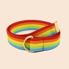 Guertel mit Regenbogen Streifen