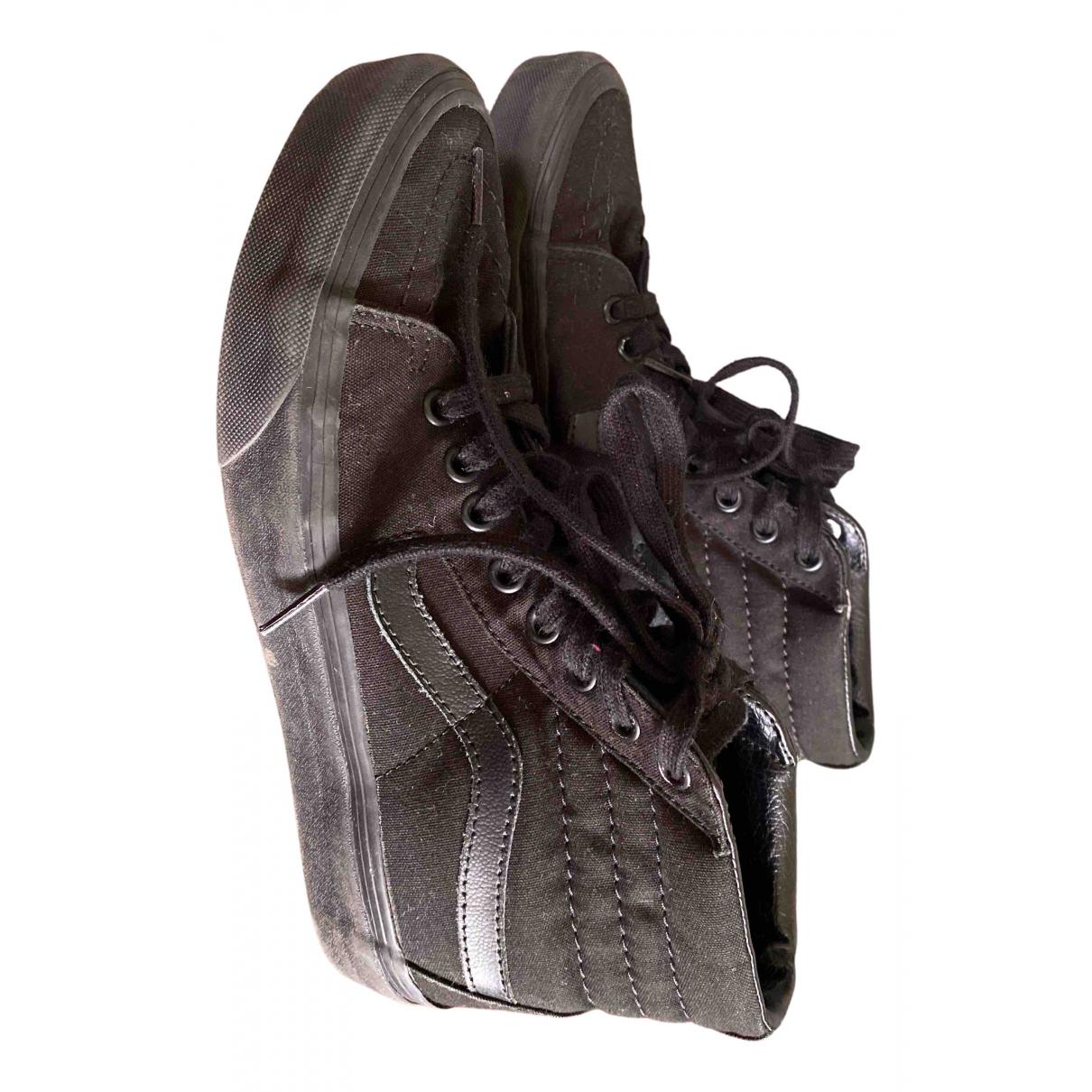 Vans \N Sneakers in  Schwarz Leinen