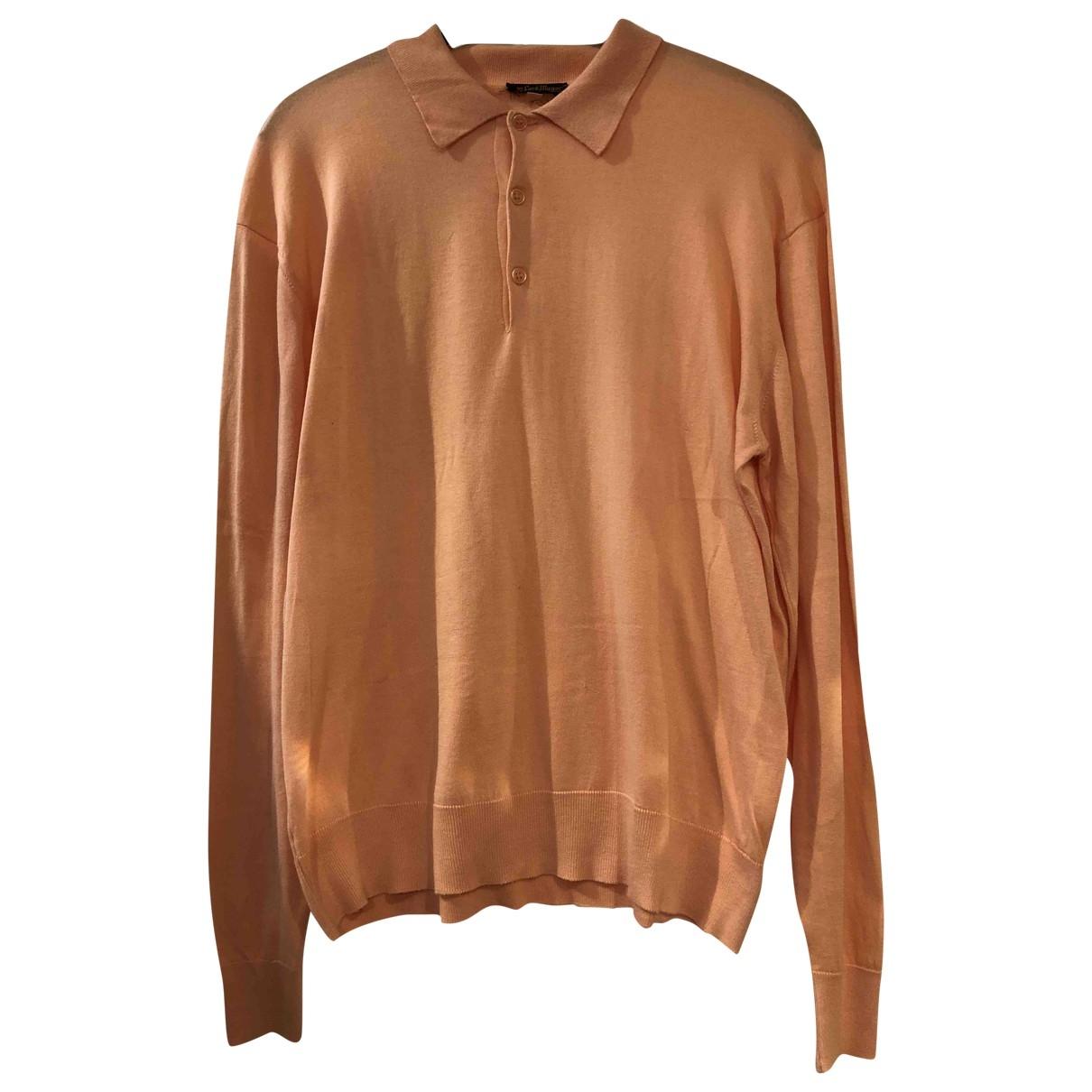 - Polos   pour homme en coton - orange