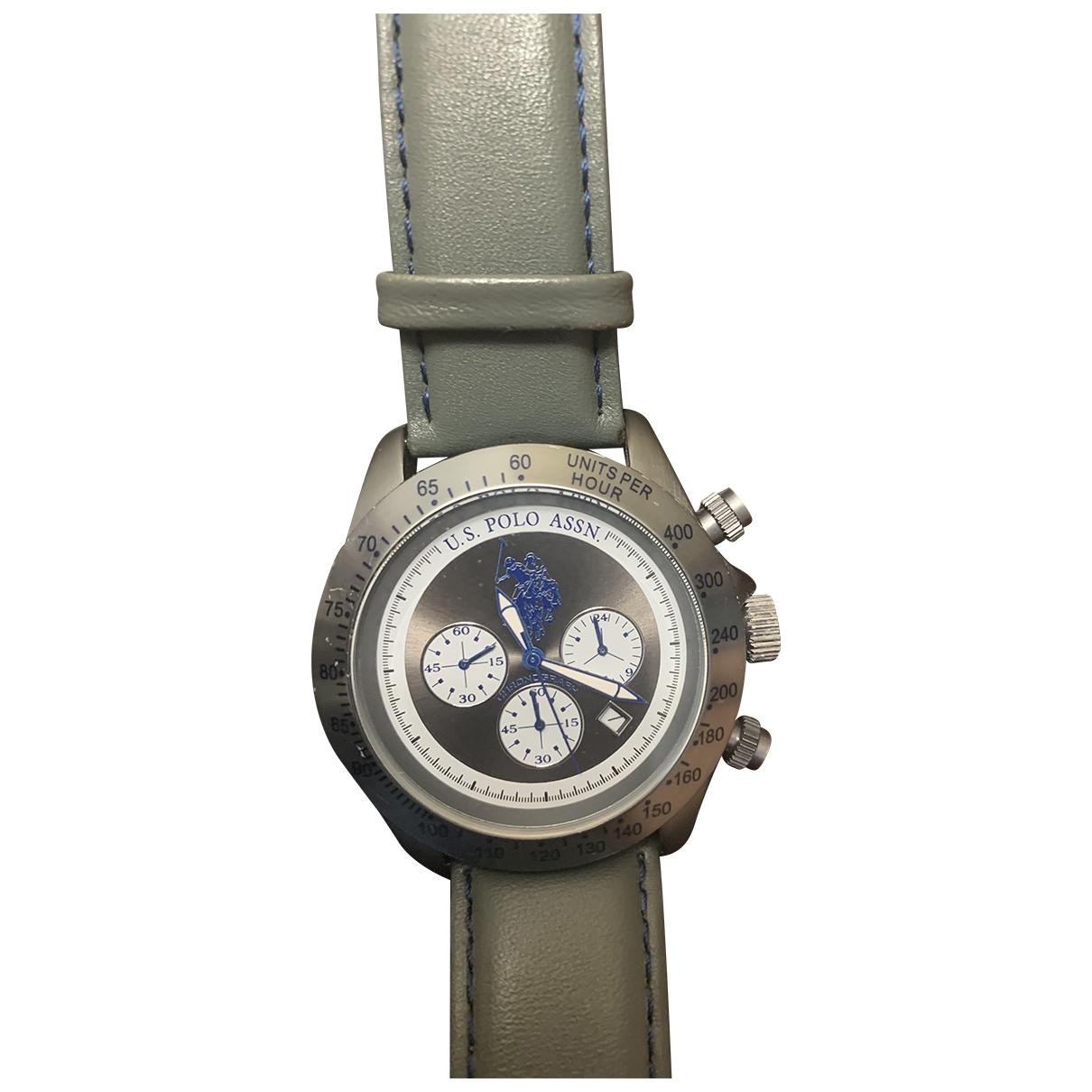 Polo Ralph Lauren \N Green Steel watch for Men \N
