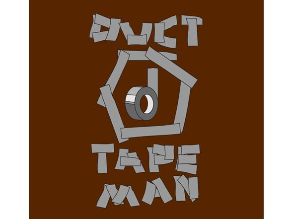 Duct Tape Man T Shirt