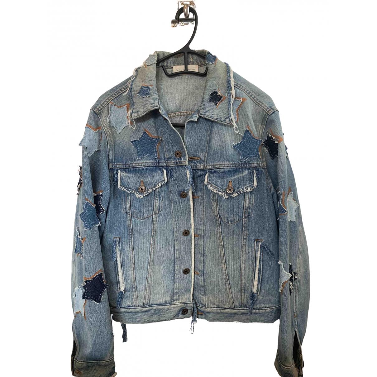 Faith Connexion \N Blue Denim - Jeans jacket for Women M International