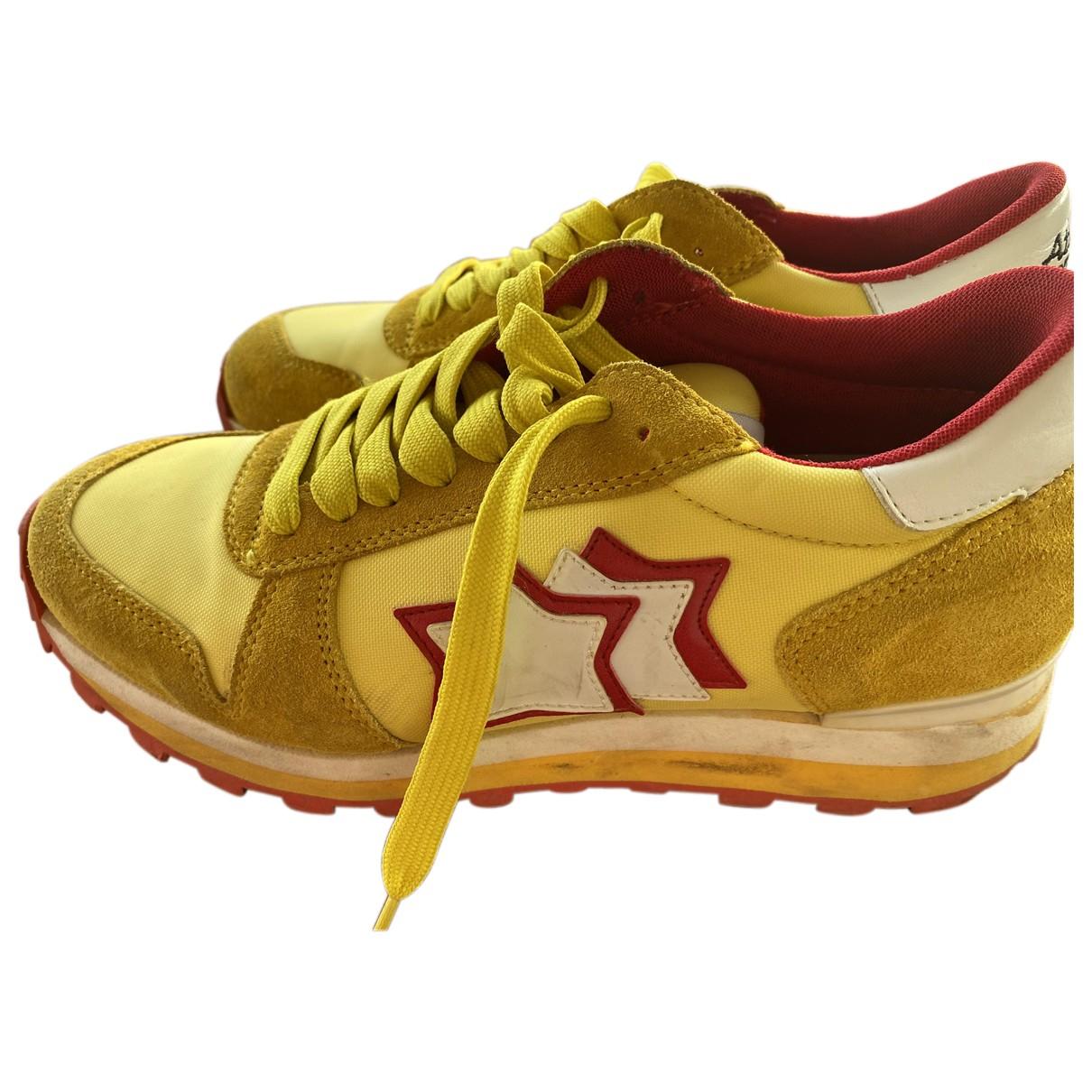 Atlantic Stars \N Sneakers in  Gelb Leder