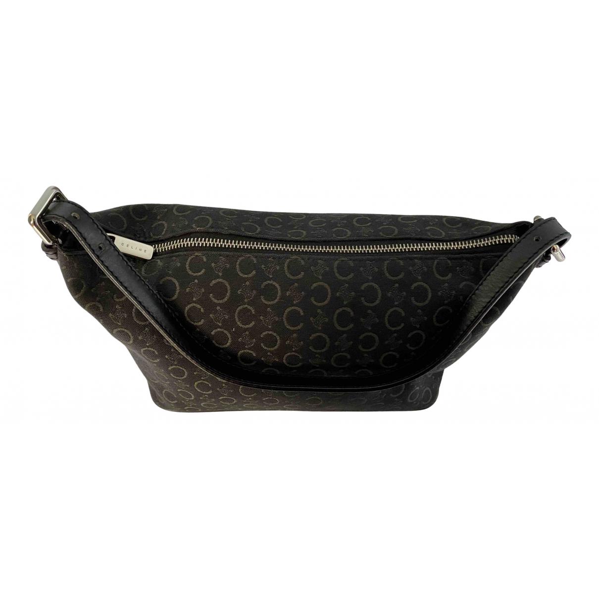 Celine \N Handtasche in  Schwarz Leinen