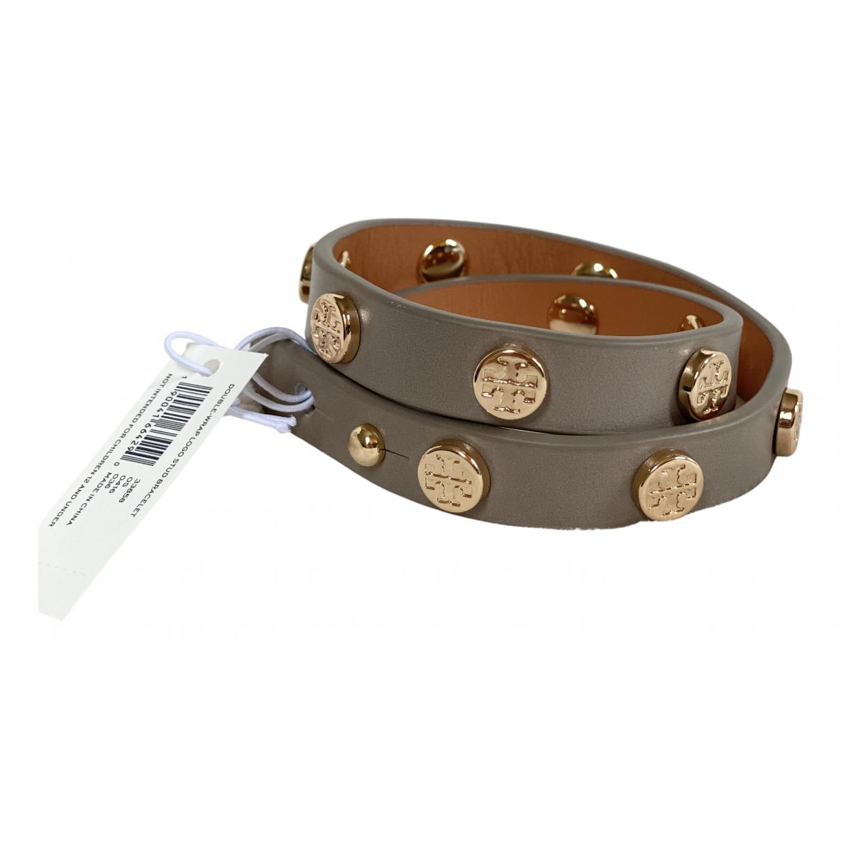Tory Burch \N Armband in  Beige Leder