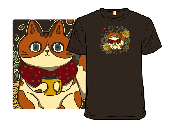 Autumnal Cat T Shirt