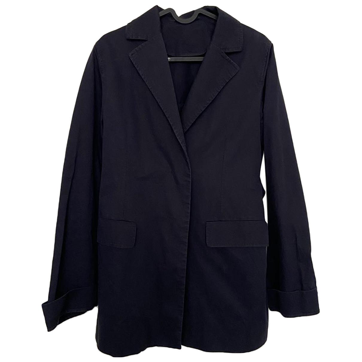 Cos - Blouson   pour femme en coton - bleu