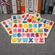 1pc Kreatives Kinder Holzpuzzle