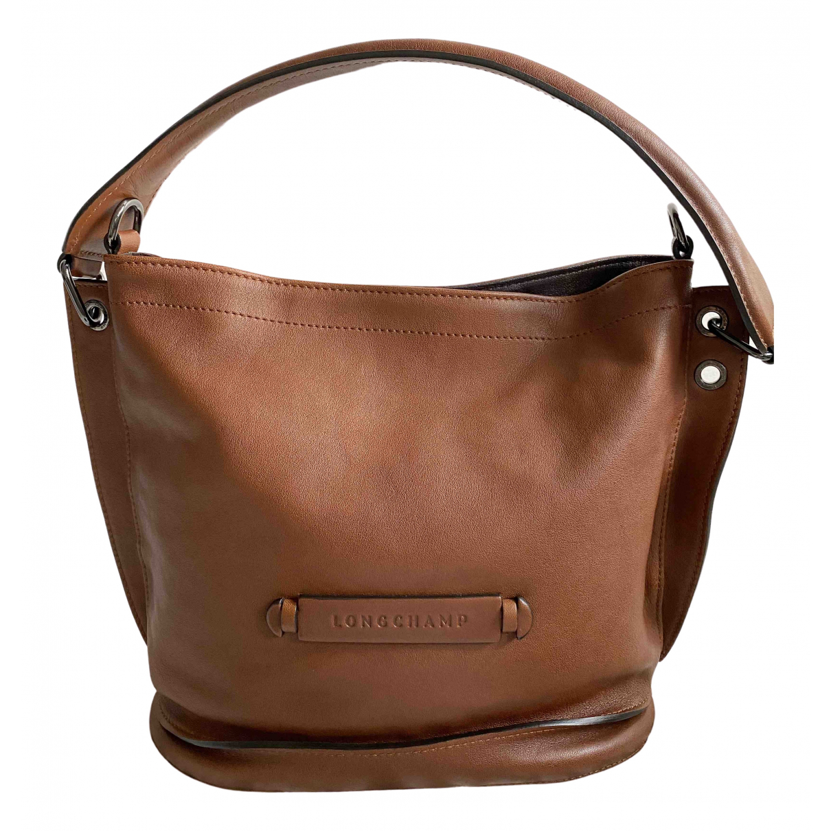 Longchamp 3D Brown Leather handbag for Women \N