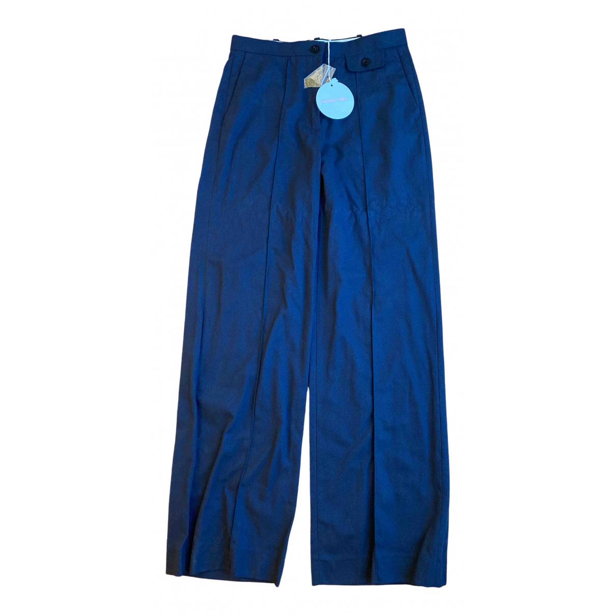 See By Chloé \N Blue Trousers for Women 38 FR