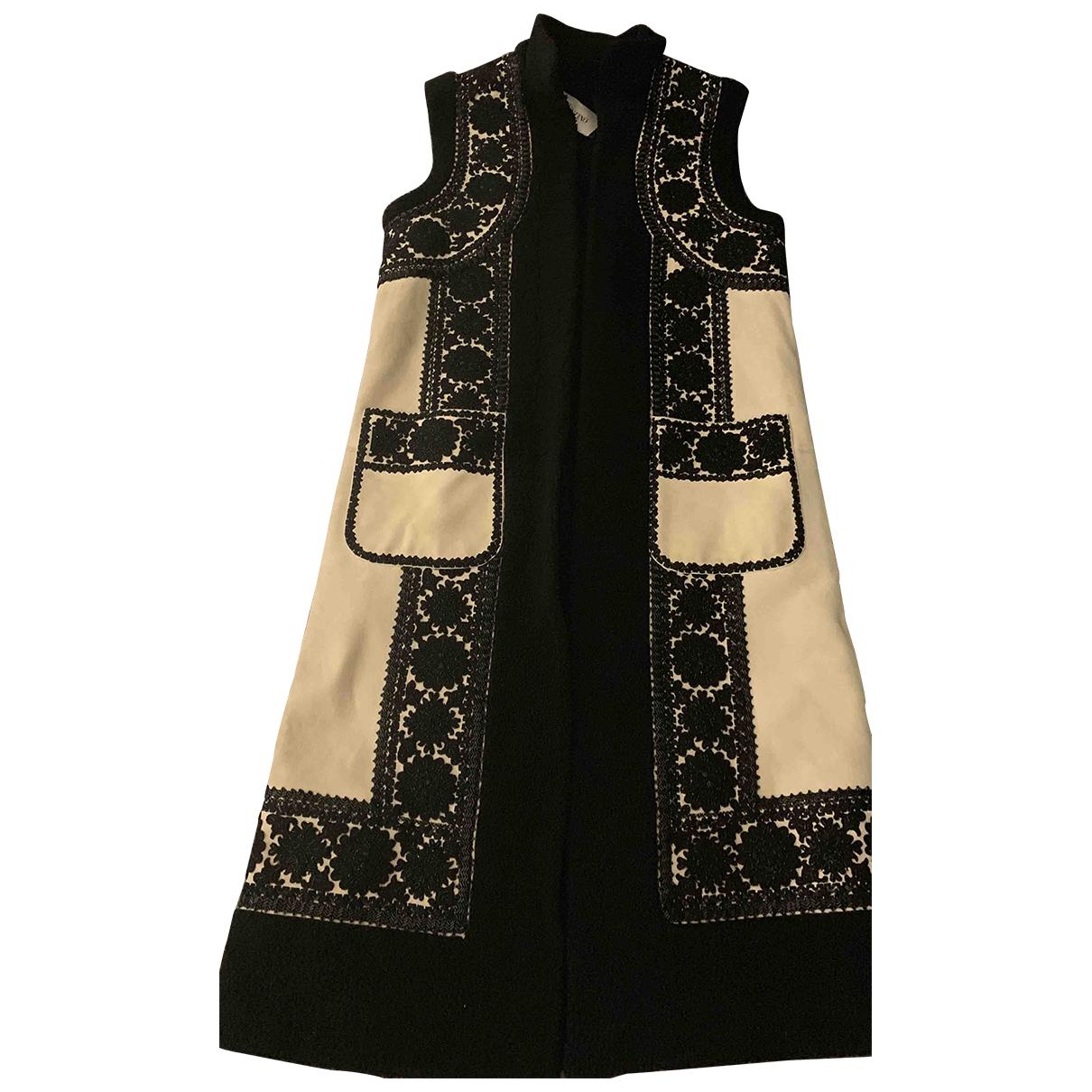 Valentino Garavani - Manteau   pour femme en mouton - multicolore